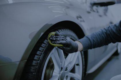 Polishing tire
